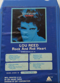 Lou Reed ‎– Rock And Roll Heart - Arista ‎8301-4100 H