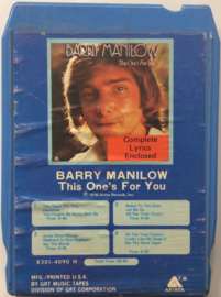 Barry Manilow - This one's for you - 8301-4090 H