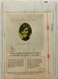 Dionne Warwicke -The Dionne Warwick Story A Decade of Gold Vol 1 & 2 - Scepter 2-596-8-1/ 2-596-8-2
