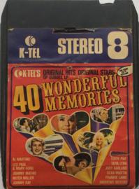 Various Artists - 40 wonderful memories DL 2 - K-Tel TN 1063