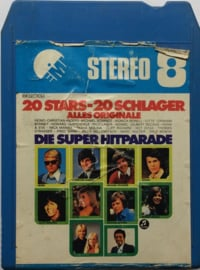Die Super Hitparade - 20 Stars 20 Schlager - EMI  / Electrola 344 29510
