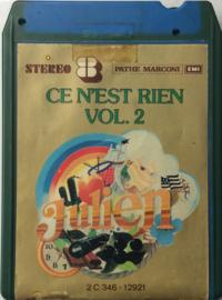 Julien Clerc - Ce Nést Rien  Vol 2 - EMI 2C346 12921