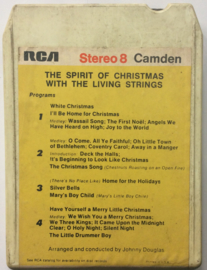 The Spirit of Christmas with The Living Strings - C8S 1043