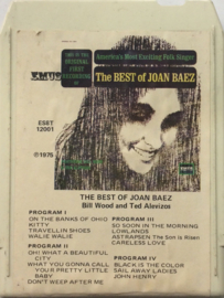 Joan Baez - The Best of Loan Baez Bill Woon and Ted Alevizos ES8T-12001