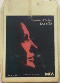 Loretta Lynn - Entertainer of the year Loretta - MCA MCAT-300