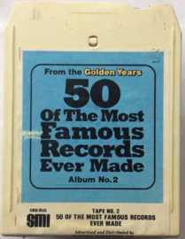 50 of the moost famous Records Ever Made - 3 tape set ( DVS1-0725 / SMI8-86AS / SMI8-85AS )