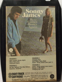 Sonny James - Here comes honey again - Capitol 8XT 849