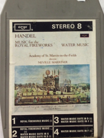 G.F Handel - Music for the royal fireworks - Argo EZRC 697