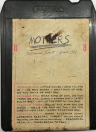 The Mothers - Fillmore East June 1971 - Ampex M 82042