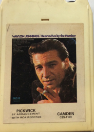 Waylon Jennings - Heartaches by the number - picwick C8S-1195