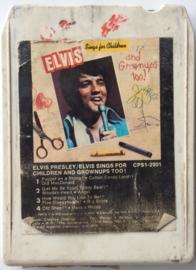 Elvis Presley - Elvis sings for children and grownups too! - RCA CPS1-2901