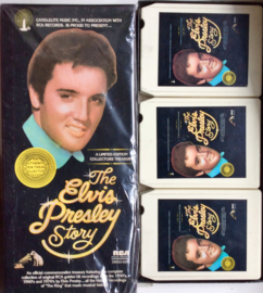 The Elvis Presley Story - 3 tape set - RCA DMS3-0263