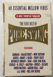 Various Artists - Pure Swing - Mellow Vibes - 3 tapes  DINMC100