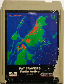 Pat Travers - Radio Active - Polydor 8T 1 6313