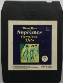 Diana Ross & The Supremes - Greatest Hits - vol 1 -  Motown MOT-8-1663