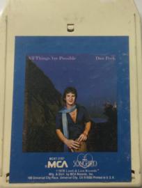 Dan Peek - All Things Are Possible - Songbird MCA MCAT 3187