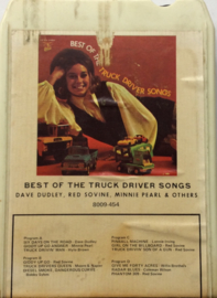 Best Of Truck Driver songs - Dudley / Sovine / Pearl & Others - GRT 8009-454