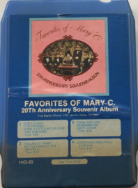 Favorites of Mary C. - 20th Anniversary Souvenir Album - HIG-20