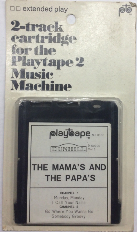 The Mama's and The Papa's - Playtape No 0130 - Dunhill D.50006 vol 1