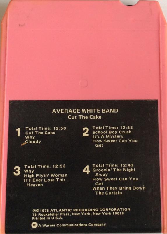 Average White Band - Cut the cake ATL TP 18140