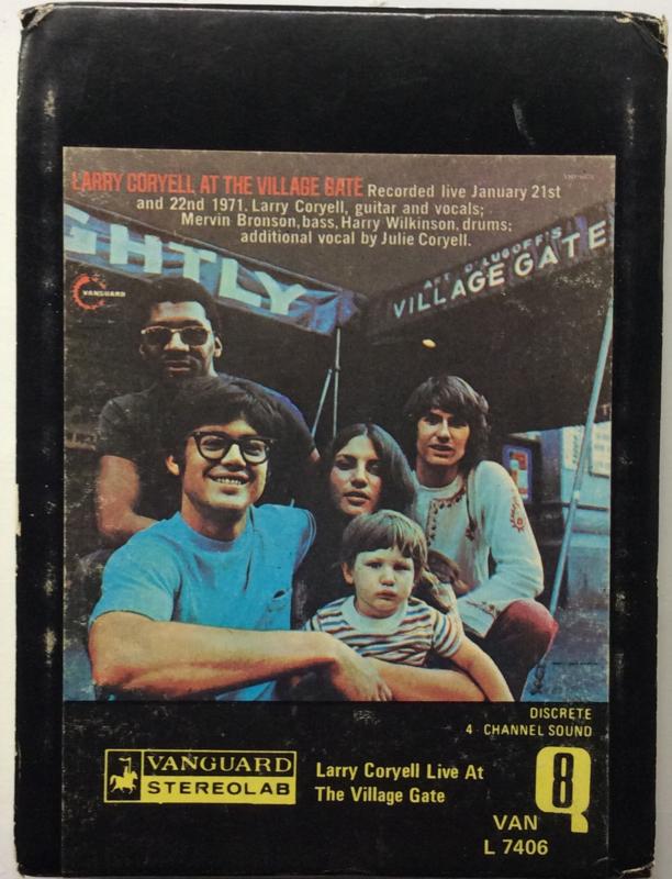Larry Coryell - Live At The Village Gate - QUAD - Vanguard VAN L 7406