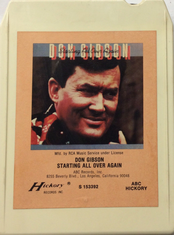 Don Gibson - Starting all over again - Hickory S 153392