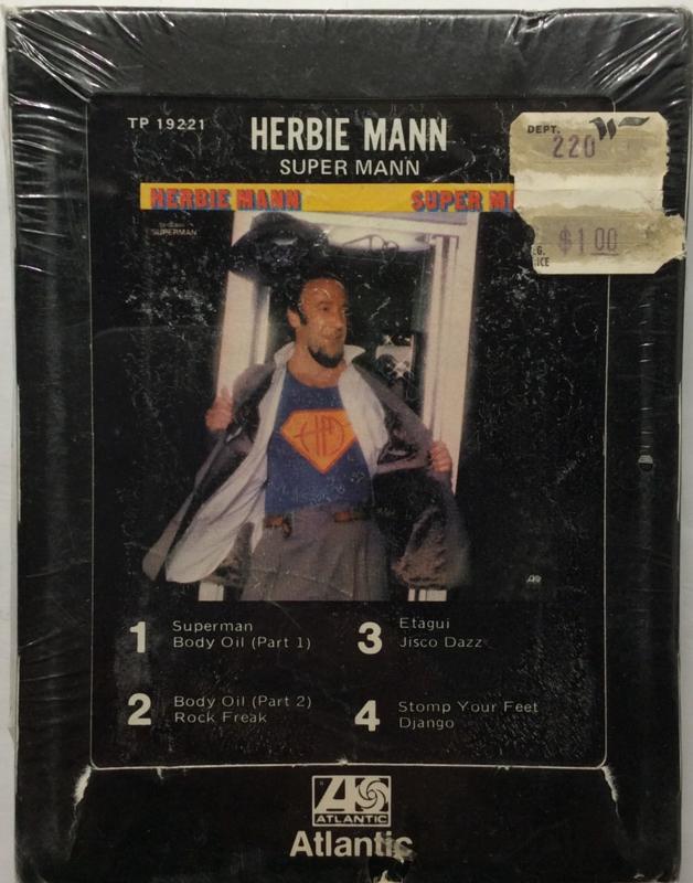 Herbie Mann – Super Mann - Atlantic TP 19221 SEALED