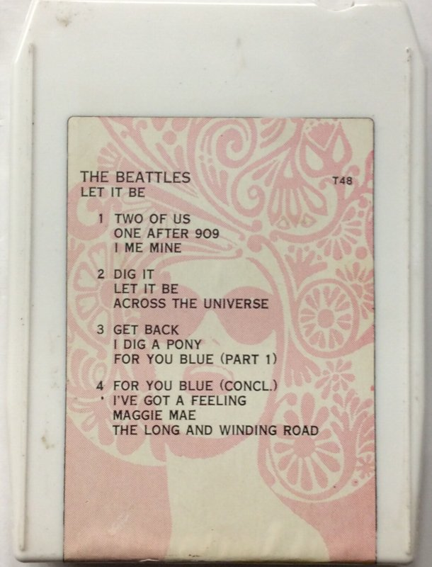The Beatles - Let it Be - T48 - not original issue