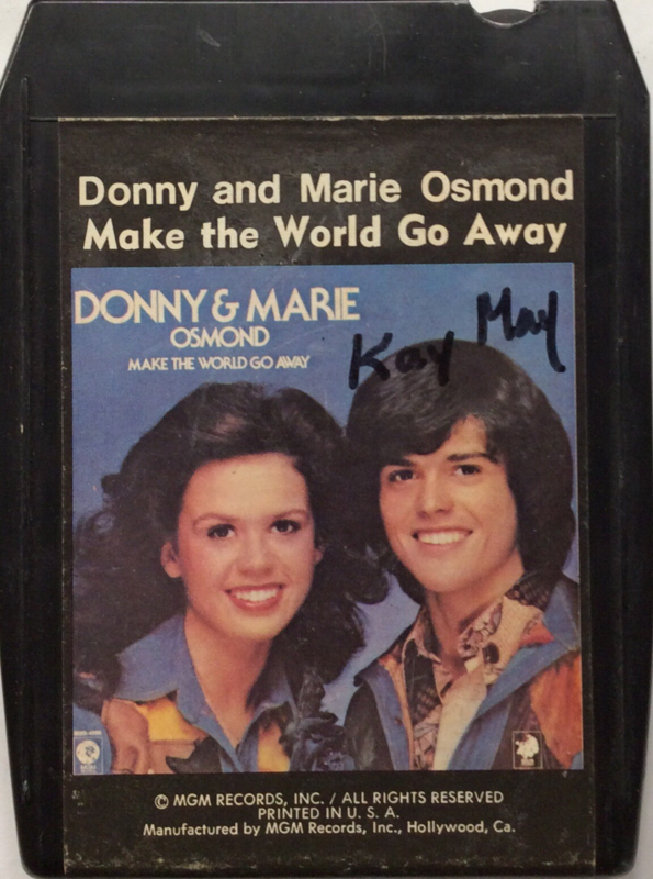 Donny & Marie Osmond - Make The World go Away - M8H-4996