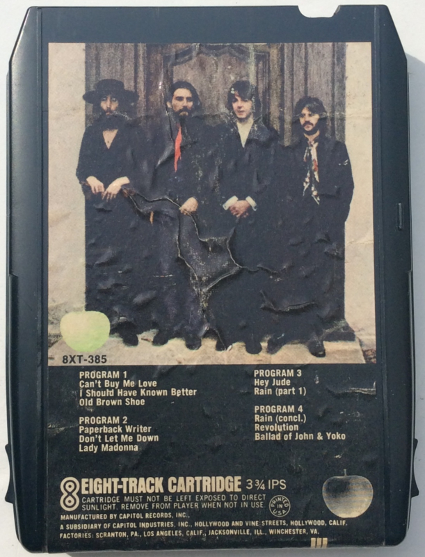 Beatles, the - Hey Jude - Apple 8XT- 385
