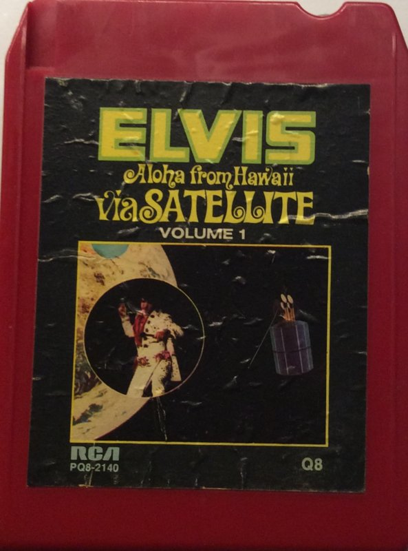Elvis Presley - Aloha From Hawaii via Satelite - RCA PQ8-2140 QUAD