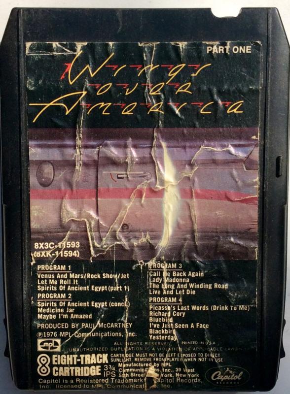 Wings - Wings over America - 8X3C 11593