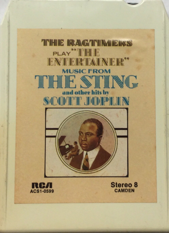 The Ragtimers - Play the Entertainer, music from the Sting and other hits by Scott Joplin - RCA ACS1-0599