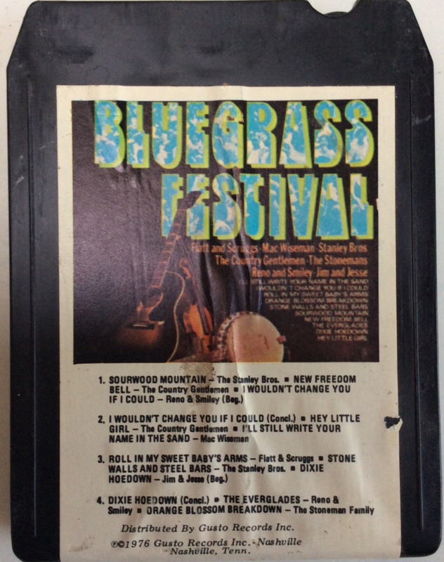 Flatt, Scruggs, Stanley Bros, Jim & Jesse , Reno & Smiley , Wiseman Bluegrass Festival   N8-2102