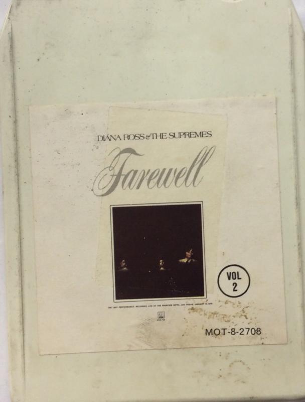 Diana Ross & The Supremes - Farewell - Motown MOT8 - 2708