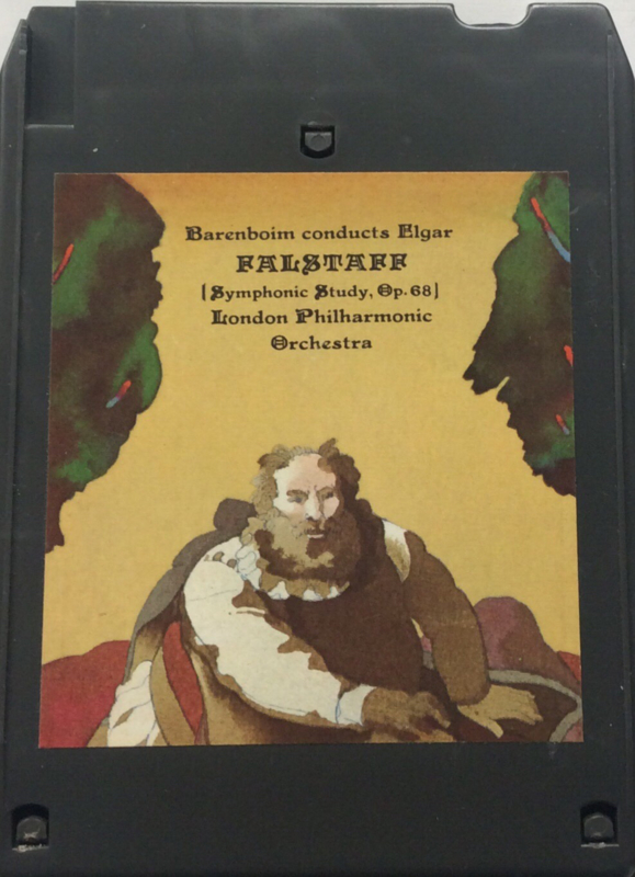 Barenboim conducts Elgar Falstaff - Symphonic study  op 68 - London Philharmonic Orchestra
