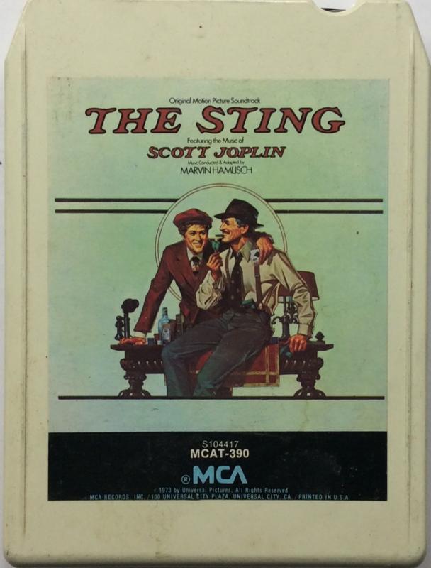 The Sting - Original Motion Picture Soundtrack  - MCA  MCAT-390 / S104417