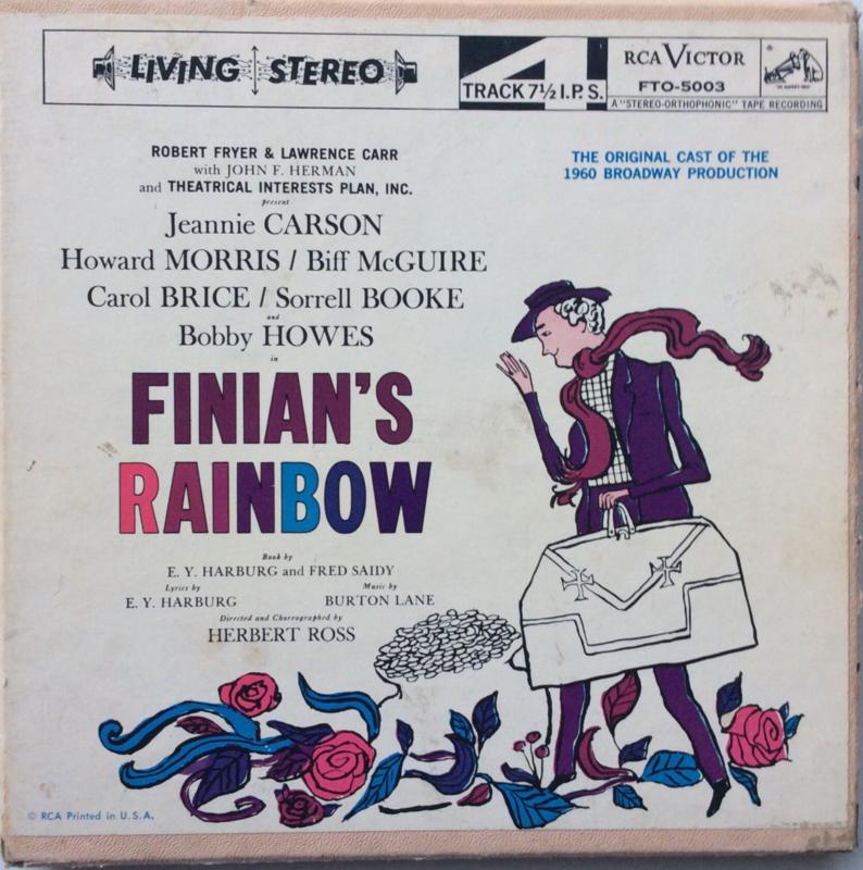 Finians Rainbow - Original 1960 Broadway Production - FTO-5003 7 1/2 ips