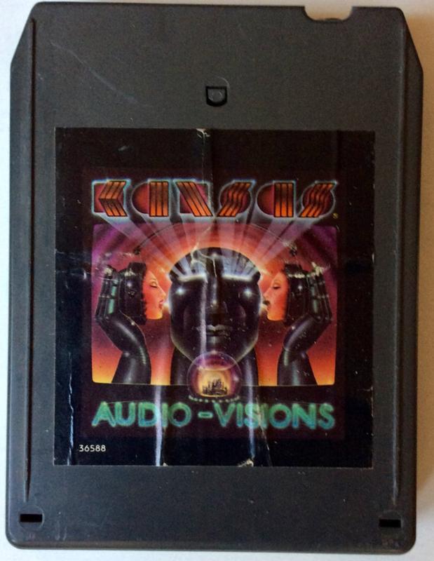 Kansas - Audio Visions - FZA 36588