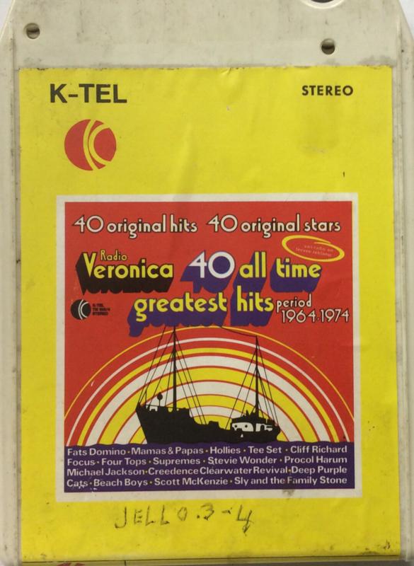 Radio Veronica - 40 all time Greatest Hits 1964 - 1974 VOL 1 - K-Tel 8XTN 103/4-1