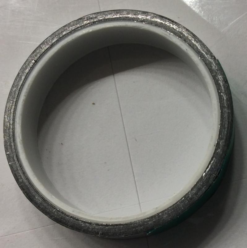 Schakelfolie Aluminium op rol 10' (3, 04 meter )