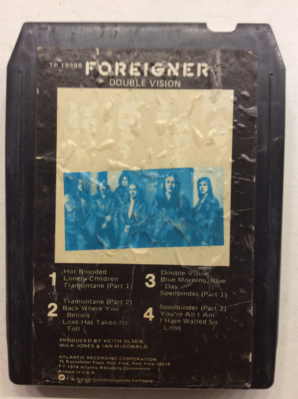 Foreigner - Double Vision - TP19999