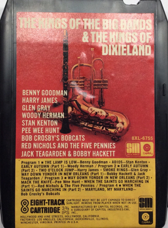 Various Artists - The King of the big bands & the  kings of dixieland