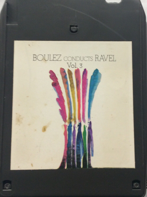 Boulez Conducts Ravel - New york Philharmonic - MAQ 32838