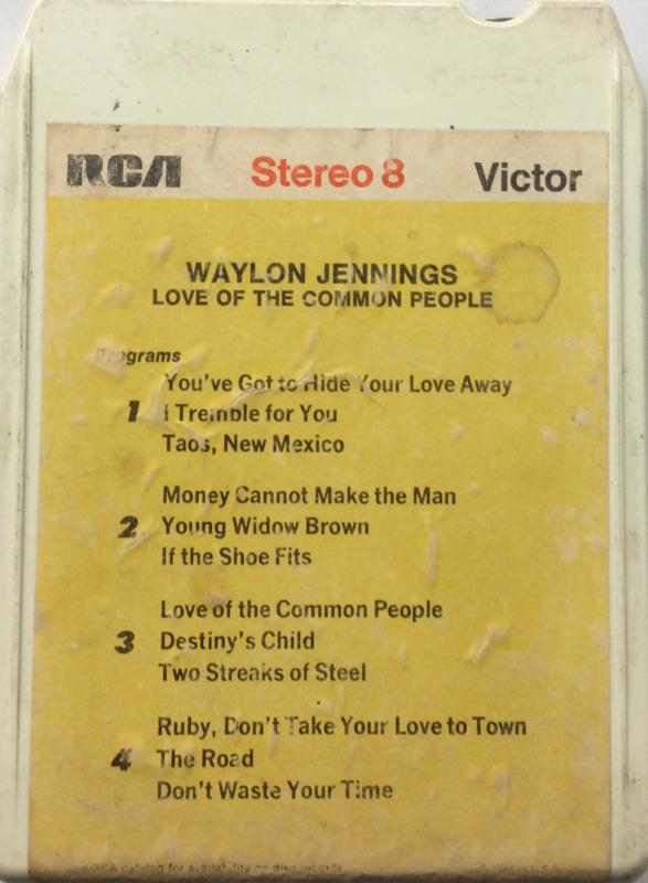 Waylon Jennings - Love of the common people - RCA P8S 1299