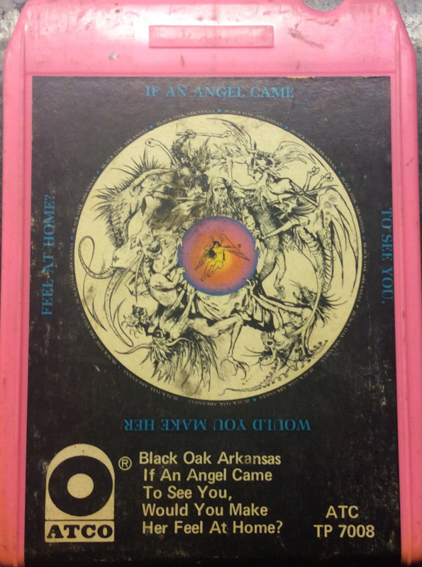 Black Oak Arkansas - If an angel came to see you, would you make her feel at home - Atco ATC TP 7008