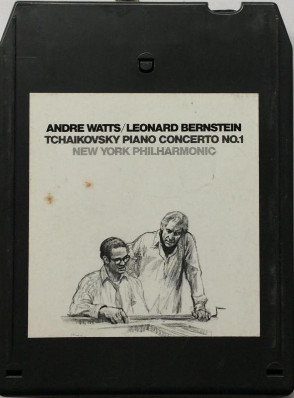 Andre Watts / Leonard Bernstein - Tchaikovsky Piano Concerto No 1 -  MA 33071