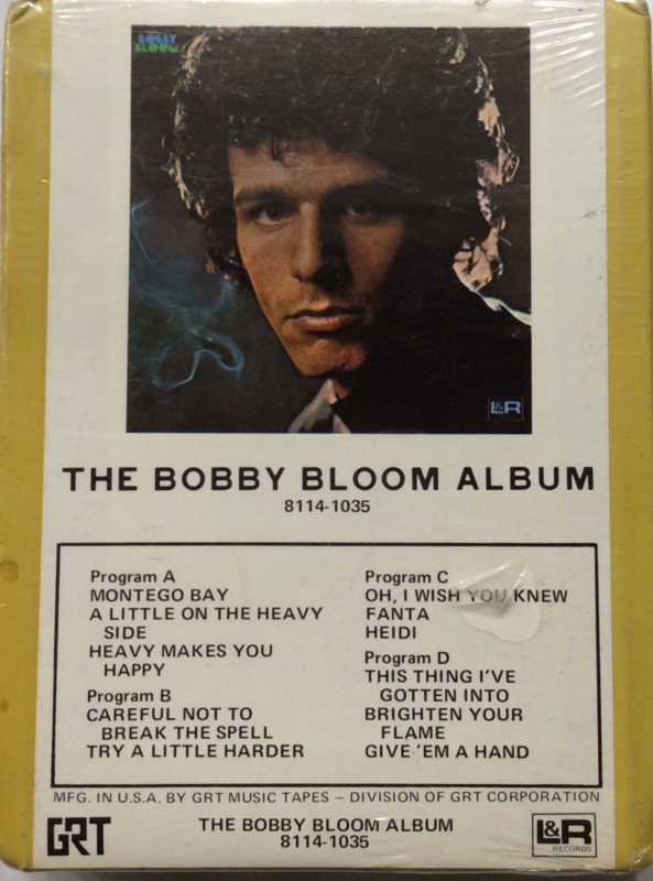 Bobby Bloom - The Bobby Bloom Album - L&R Records GRT 8114-1035 SEALED