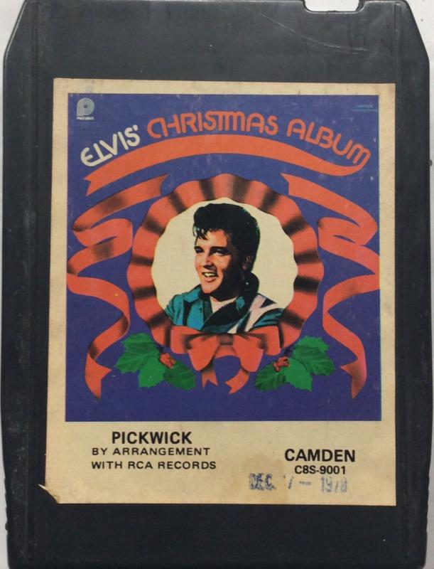 Elvis Presley - Elvis' Christmas Album - C8S-9001