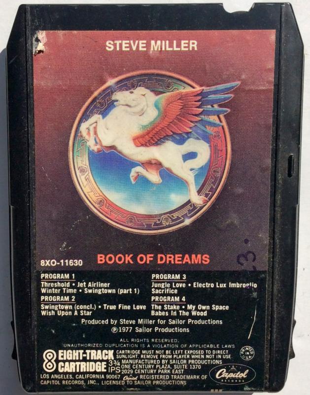 Steve Miller Band - Book of Dreams - 8XO 11630